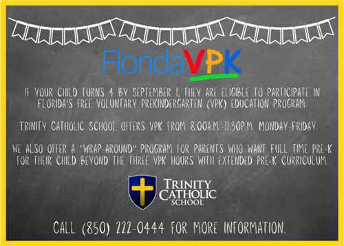 VPK at Trinity Catholic School